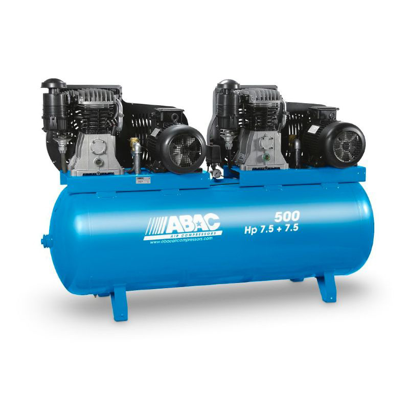 PRO High Flow Tandem - Two Stage Twin Pump Belt Driven Compressors